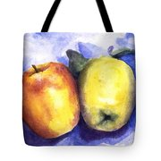 Apples Paired Tote Bag