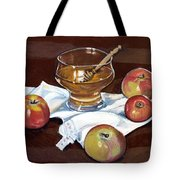 Apples With Honey Tote Bag