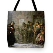 Applicants For Admission To A Casual Tote Bag by Sir Samuel Luke Fildes