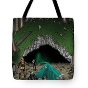 Approach To The Kobold Caves Tote Bag
