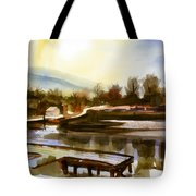 Approaching Dusk IIb Tote Bag by Kip DeVore