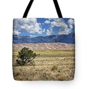 Approaching Great Sand Dunes #2 Tote Bag