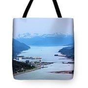 Approaching Juneau Tote Bag