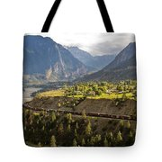 Approaching Lillooet Tote Bag