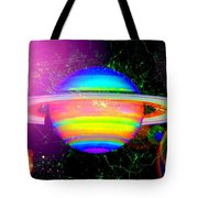 Approaching Saturn From The East Tote Bag