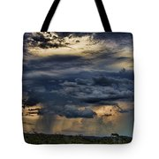 Approaching Storm Tote Bag by Douglas Barnard