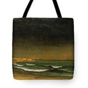 Approaching Storm Near Newport Beach Tote Bag by Martin Heade