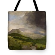 Approaching Storm  White Mountains Tote Bag
