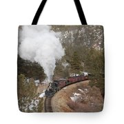 Approaching The Highline Tote Bag