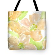 Apricot Quince Tote Bag