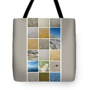 April Beach Tote Bag by Michelle Calkins