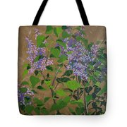 April Lilacs Tote Bag