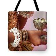 Apsara Dancer 01 Tote Bag