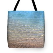 Aqua Art Tote Bag