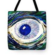Aqua Eye Tote Bag