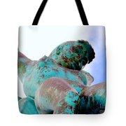 Aqua Girl Tote Bag