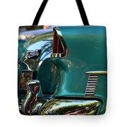 Aqua Marine Blue Chevy Tote Bag