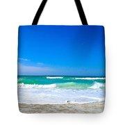 Aqua Surf Tote Bag