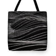 Aqua Waves Tote Bag