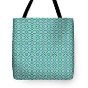 Aqua X Arrangement Tote Bag