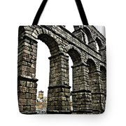 Aqueduct Of Segovia - Spain Tote Bag by Juergen Weiss
