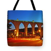 Aqueduct Of The Free Waters Tote Bag