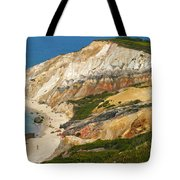 Aquinnah Clay Cliffs Marthas Vineyard Tote Bag