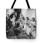 Arab Men At Leisure Tote Bag