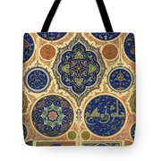 Arabian Decoration Plate Xxvii From Polychrome Ornament Tote Bag