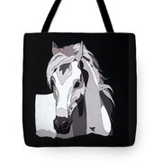Arabian Horse With Hidden Picture Tote Bag