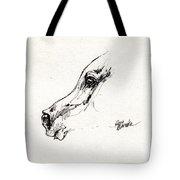 Arabian Horse Sketch 2014 05 24 G Tote Bag