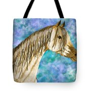 Arabian Sketch  Digital Effect Tote Bag
