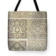 Arabic Tile Designs  Tote Bag