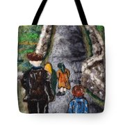 Aran Island Walk Tote Bag