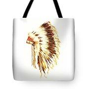 Arapaho War Bonnet Tote Bag