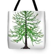 Araucaria Prehistoric Tree Tote Bag