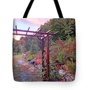 Arbor And Fall Colors 2 Tote Bag