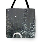 Arc De Neige  Tote Bag