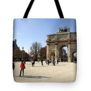 Arc De Triomphe Du Carrousel In Paris France  Tote Bag