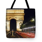 Arc De Triomphe Tote Bag