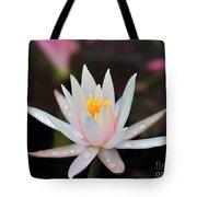 Arc-en-ciel Water Lily Tote Bag