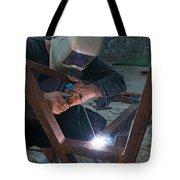 Arc Welder Tote Bag