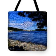Arcadia Maine Abstract Tote Bag