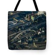 Arcelormittal Dofasco In Winter Tote Bag