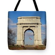 Arch At Valley Forge Tote Bag