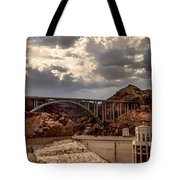 Arch Bridge And Hoover Dam Tote Bag