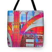 Arch Five  - Architecture Of New York City Tote Bag