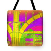 Arch Four - Architecture Of New York City Tote Bag