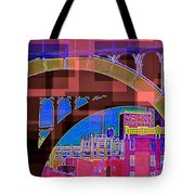 Arch One - Architecture Of New York City Tote Bag