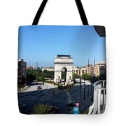 Arch Morning View Tote Bag